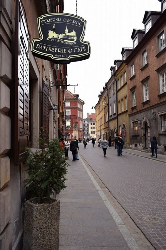 Streets of Old Town (Stare Miasto), Warsaw