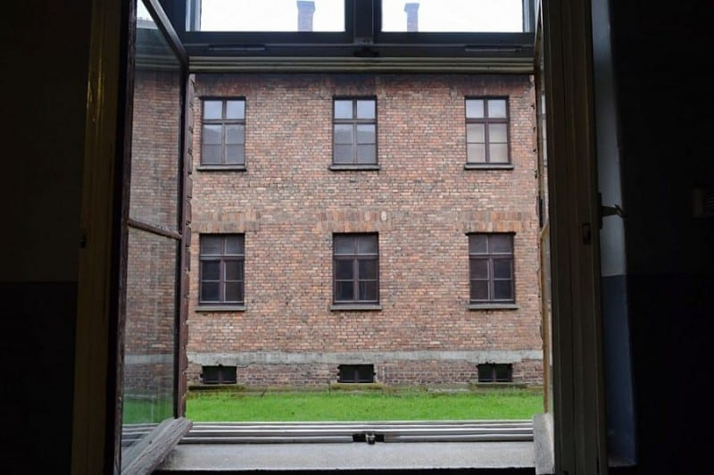 It's hard to imagine what the prisoners saw through these windows every day