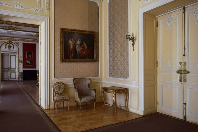 Inside the Potocki Palace