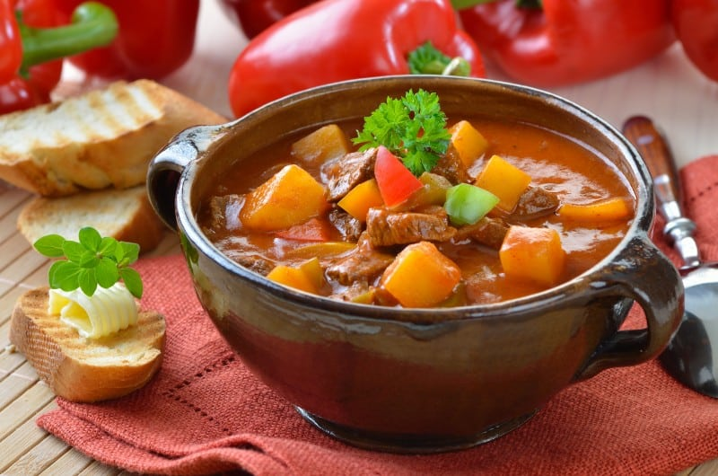 """The Traditional Hungarian """"Gulyás"""" recipe - Global Storybook"""