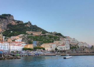 The Azure of the Amalfi Coast
