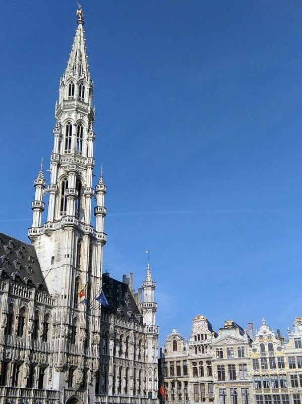 The beautiful Grand Place