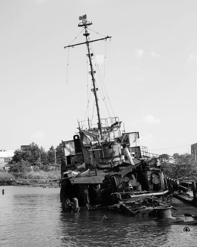 Arthur Kill Ship Graveyard