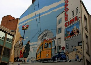 Comic Strip Mural Walk - a Different Way to Explore Brussels