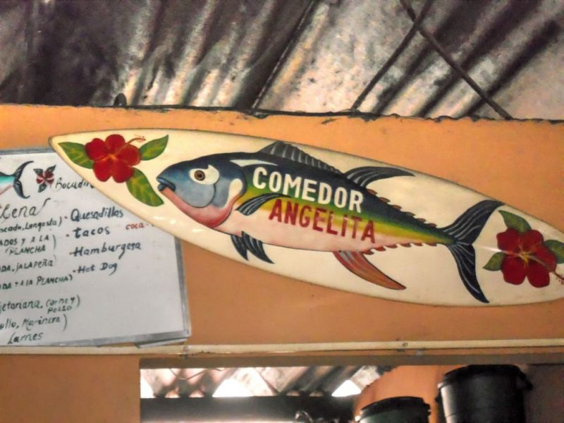 Comedor Angelita has fantastic food for fantastic prices. Find this place at San Juan del Sur (March 2015)