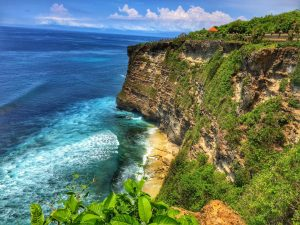 Cliff faces in Uluwatu