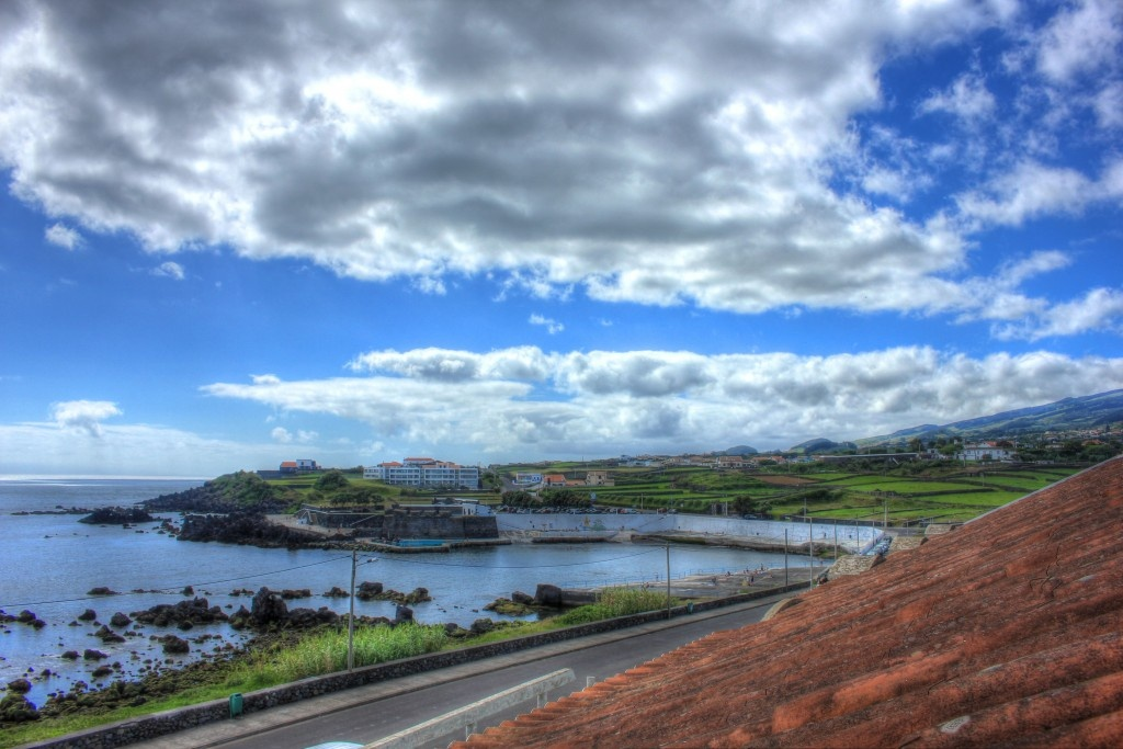 Rooftop View of Looking from the front - Pousada de Juventude da Terceira, Terceira Island, Azores, Portugal