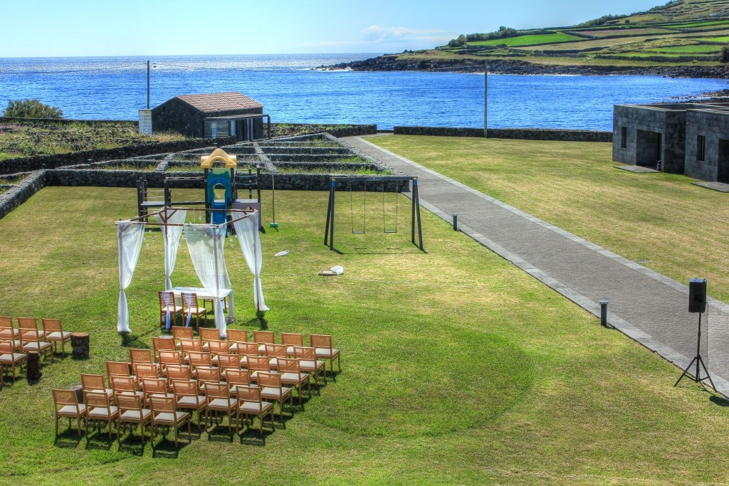Hosting a Wedding - Graciosa Resort & Business Hotel, Graciosa, Azores, Portugal.