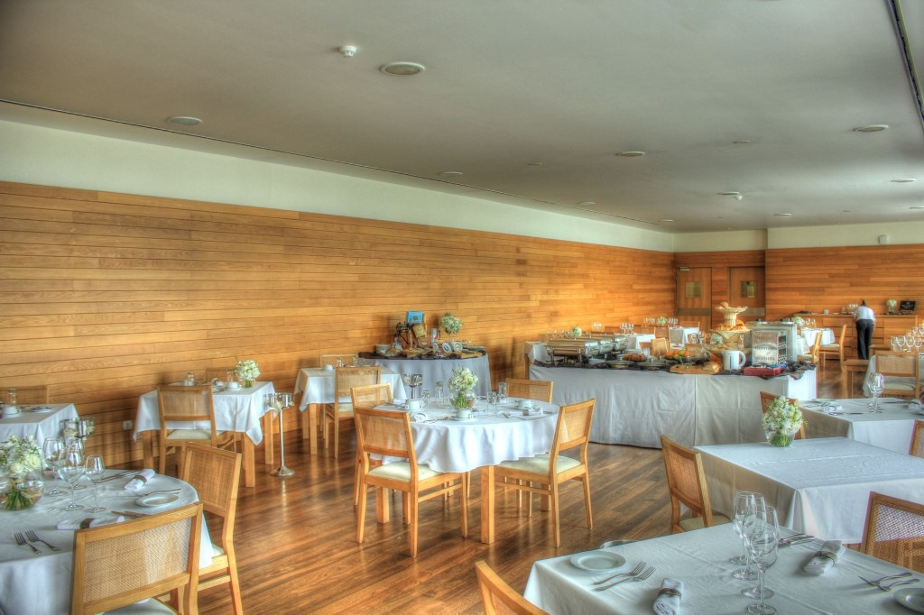 The Dining & Breakfast Room - Graciosa Resort & Business Hotel, Graciosa, Azores, Portugal.