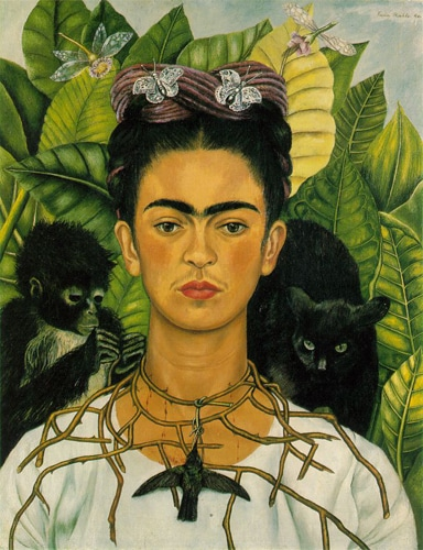 Frida - self portrait 1940