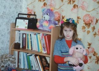 My Happy Childhood - in My Small, Unhappy World.