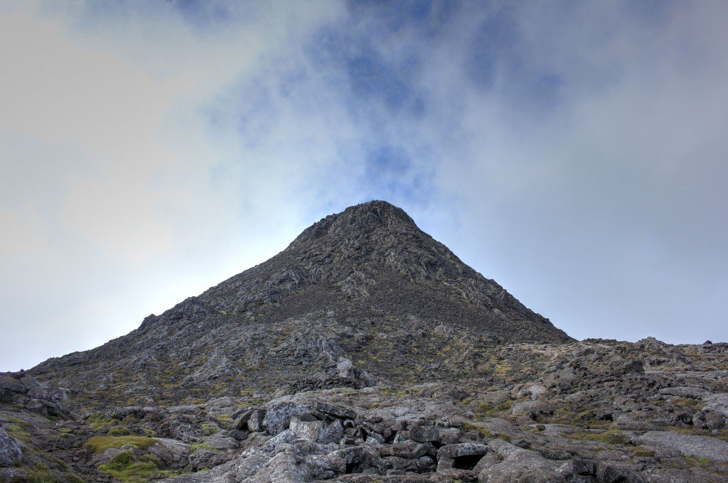 Pico of Pico. 70 Meter climb once in the crater