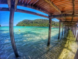 Jetty at Sapi Island