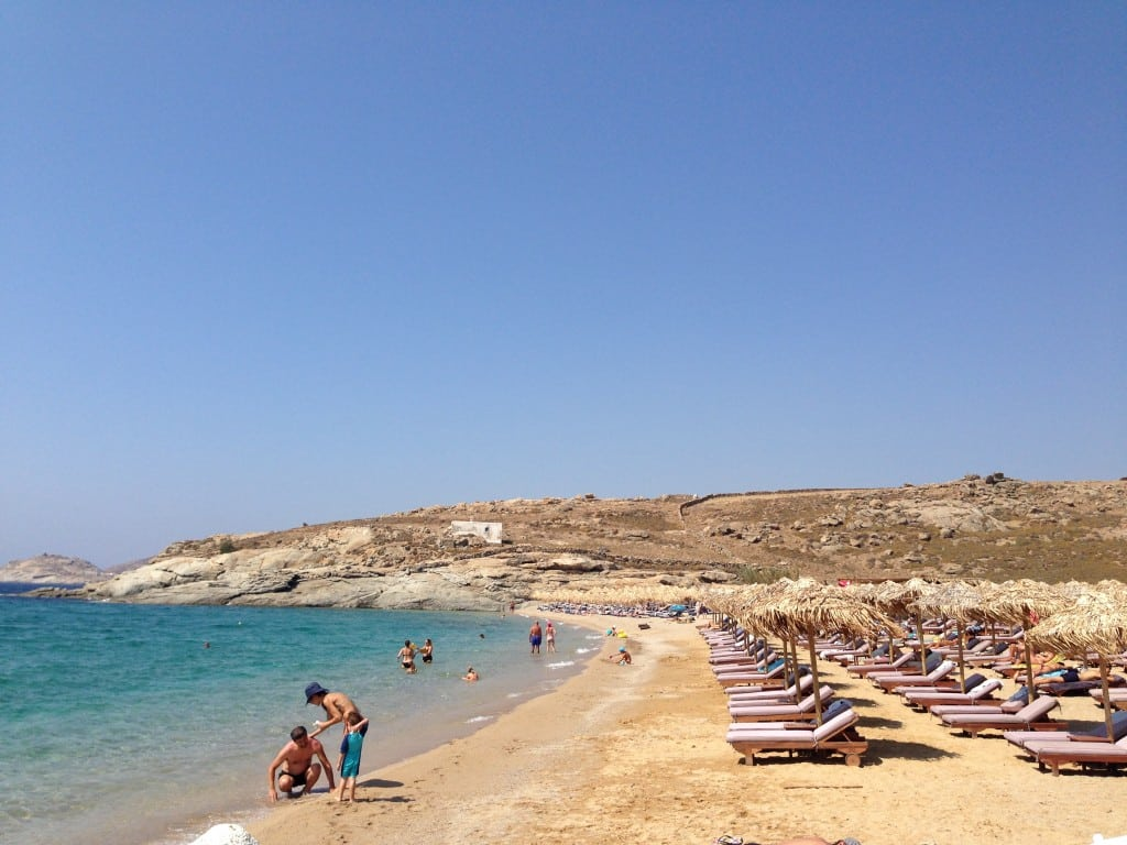 Lia Beach, Mykonos, Greece