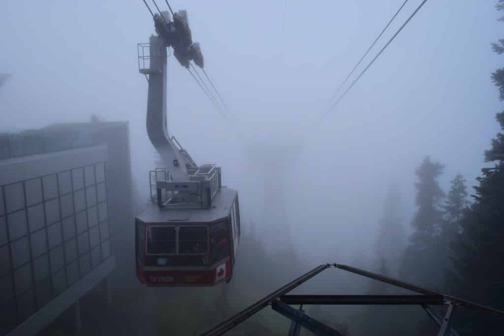 the Grouse Mountain, Vancouver, Canada