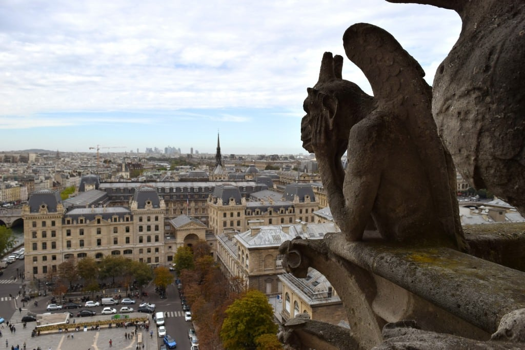 Notre-Dame Cathedral top views