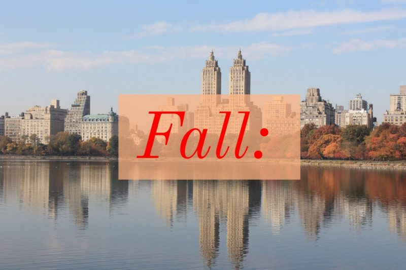 New York in Fall