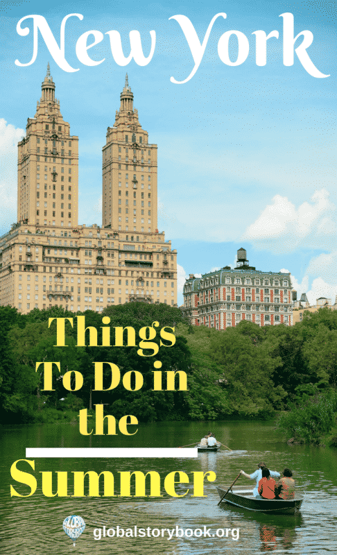 NYC in Summer - Things to do, Global Storybook