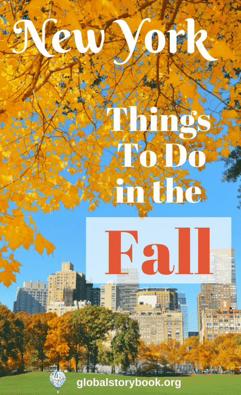 New York in Fall - things to do, Global Storybook