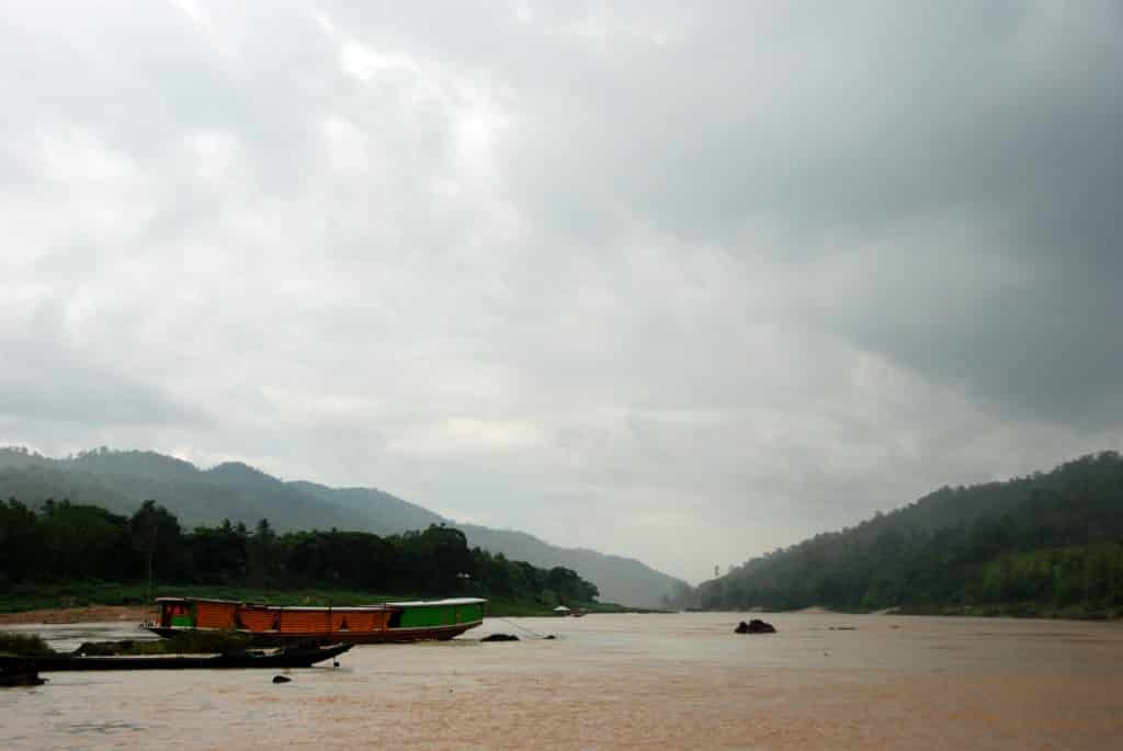 On the Mekong River