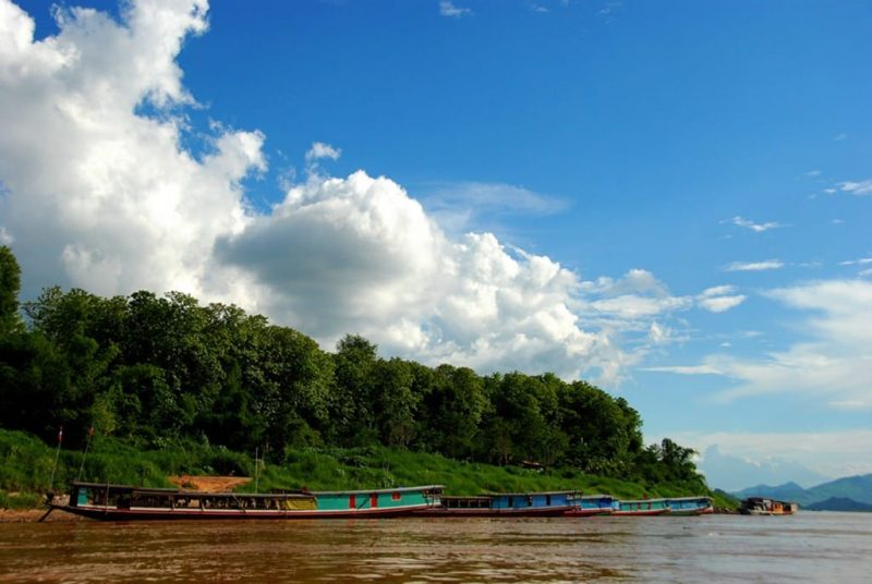 The Long Boats of the Mekong