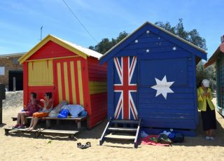 Brighton Bathing Boxes: It's Always More Fun In the Sun