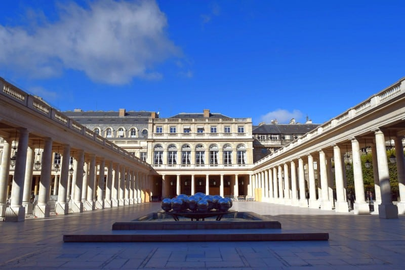 Jardin du Palais Royal, Paris - Global Storybook