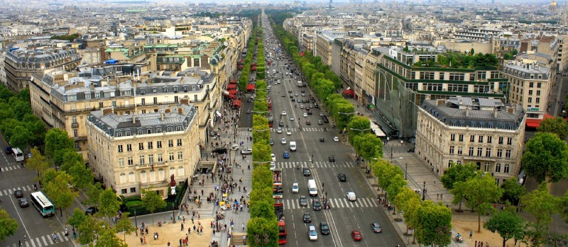 Champs-Elysees, Paris - Global Storybook