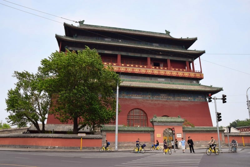 Bell and Drum Towers, Beijing, China - Global Storybook