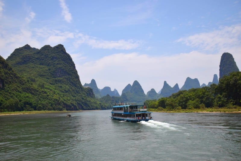 Li-Jiang River Cruise, Guilin, China - Global Storybook