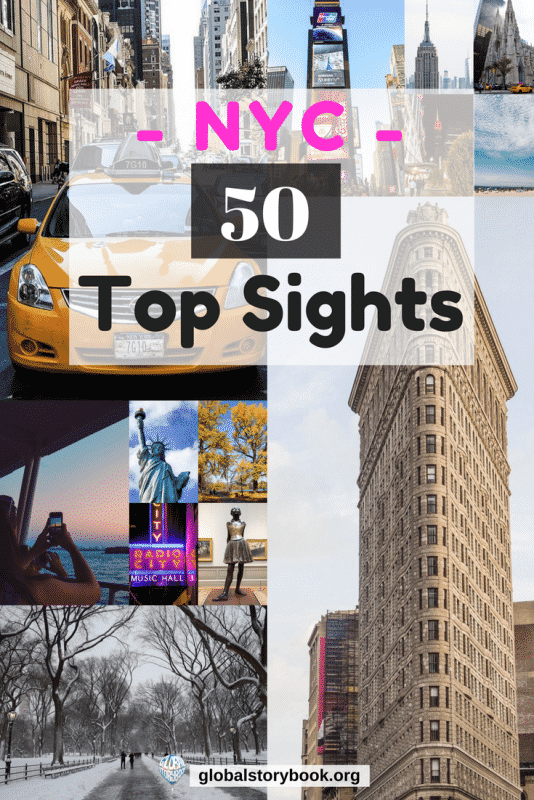 New York City: The Top 50 Sights - Global Storybook