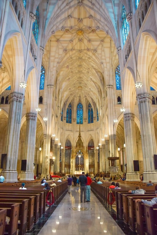 St Patrick's Cathedral, New York City - Global Storybook