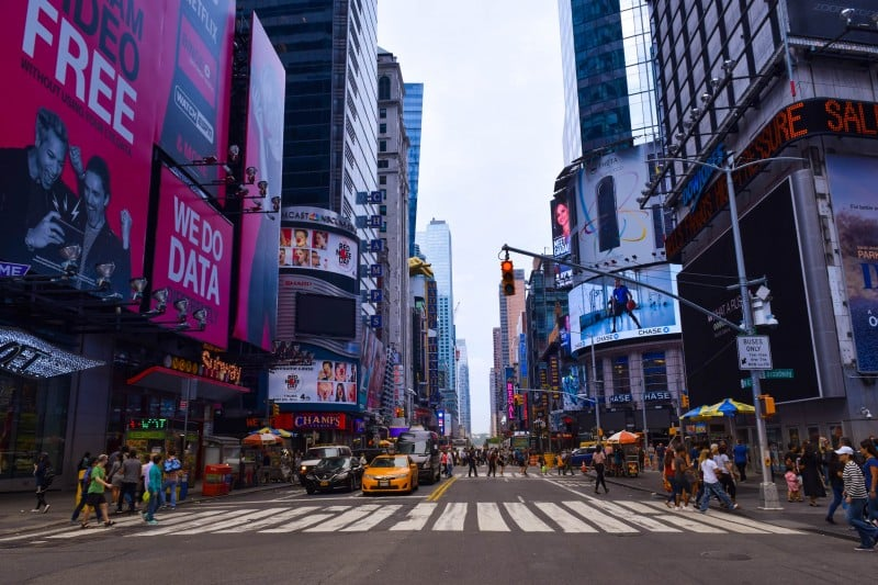 Times Square, New York City - Global Storybook