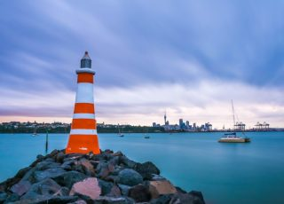 Tamaki Drive Coastline, Auckland, New Zealand - Global Storybook. Photo © Winston Tan/Shutterstock.com