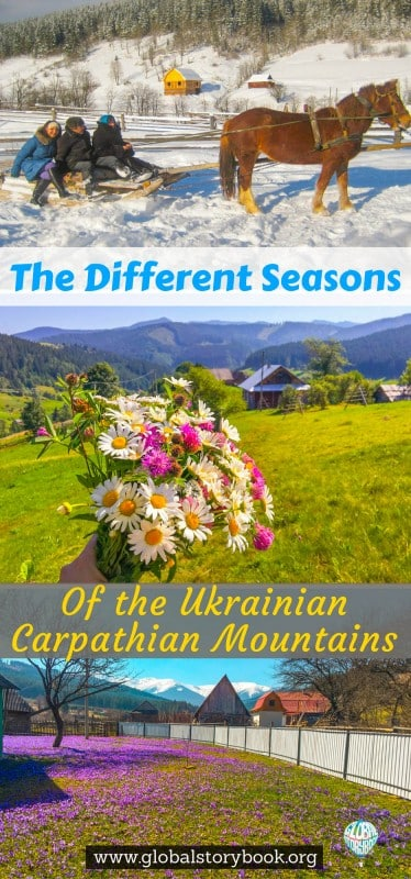 The Different Seasons Of Ukrainian Carpathian Mountains - Global Storybook
