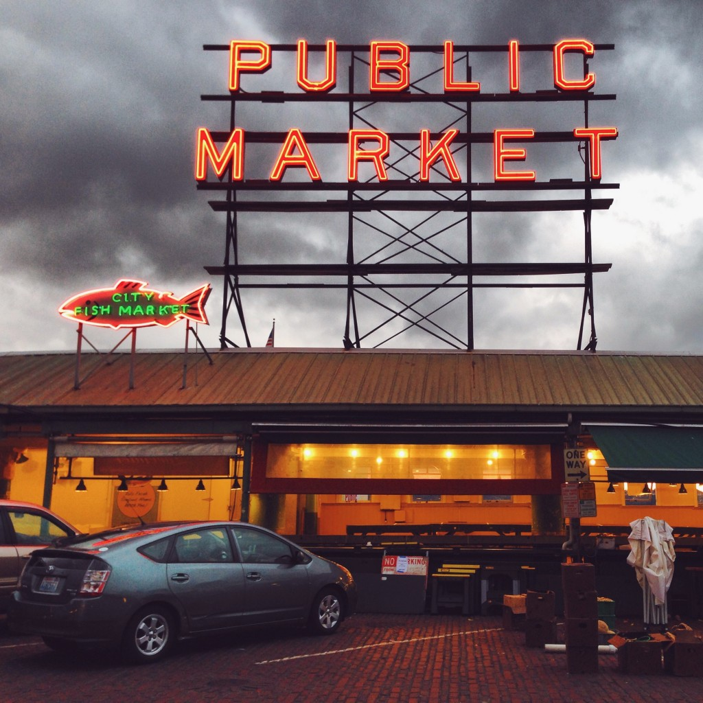 Pike Market, Seattle