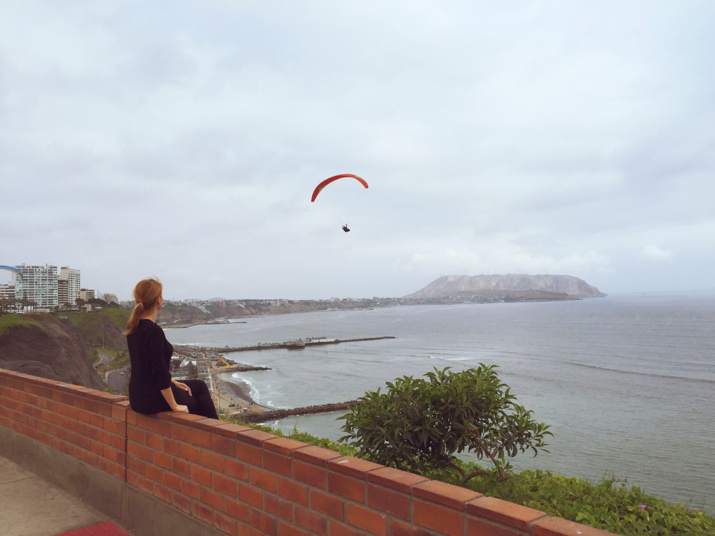 View from Miraflores, Lima