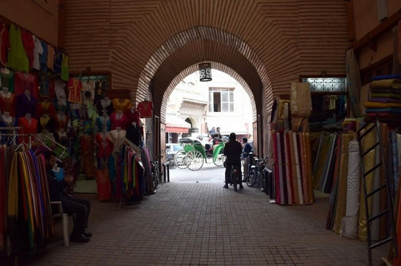Marrakesh's central market