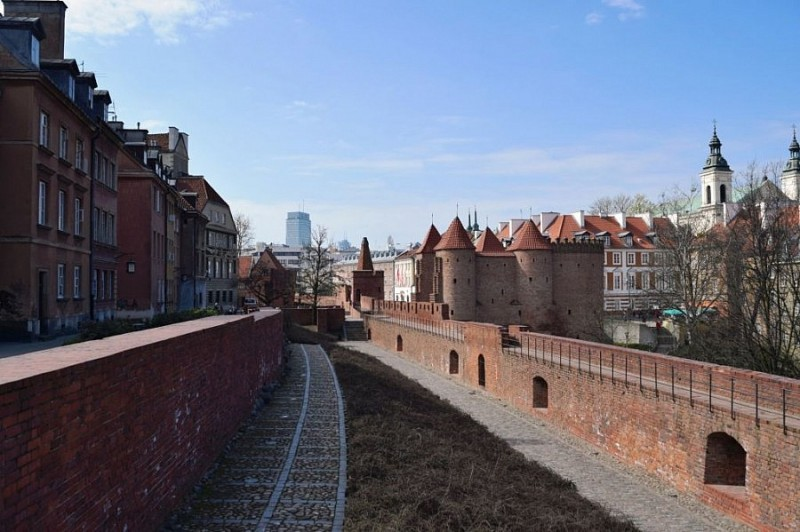 Barbican and City Walls of Old Town, Warsaw