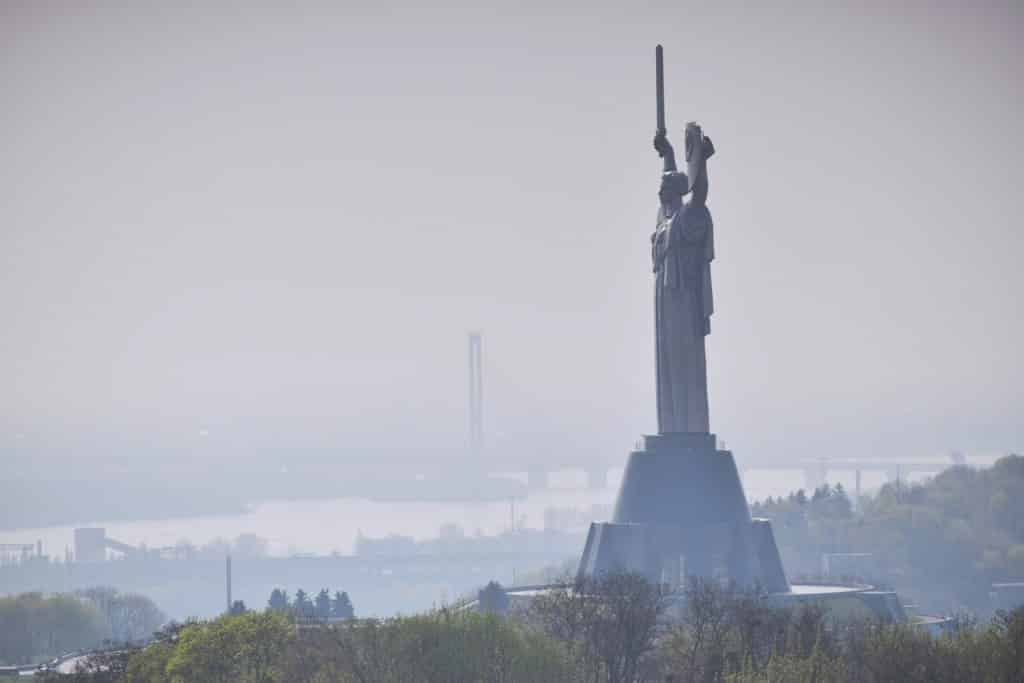 Rodina-Mat, the Motherland Statue