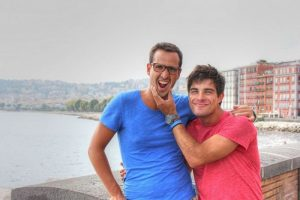 Gian and me in Napoli (August 2013)