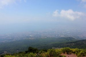 View of Napoli from Vesuvius (August 2013)