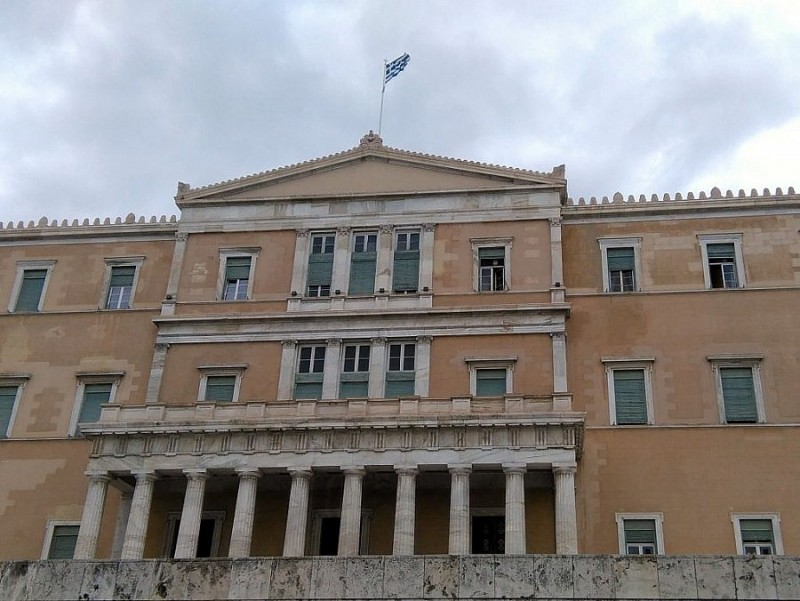 Parliament at the Syntagma Square