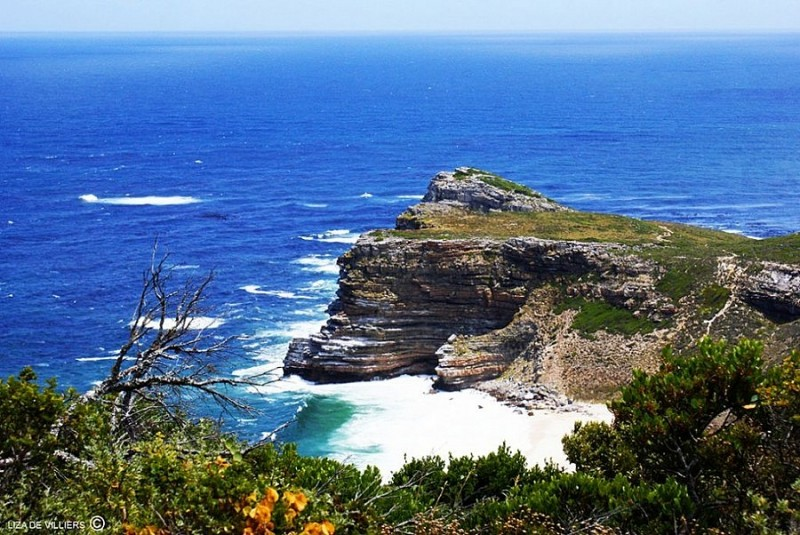 The Cape of Good Hope with Dias Beach
