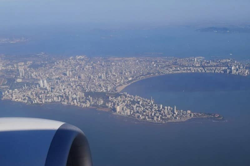 Mumbai from above
