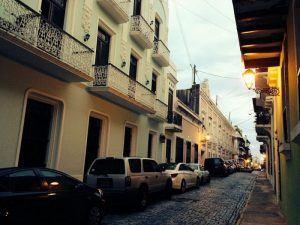 Streets of Old San Juan. Puerto Rico