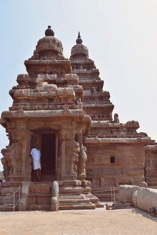 Shore Temple, South India