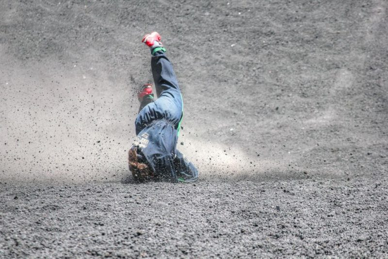 Danger of Volcano Boarding down Cerro Negro (March 2015)