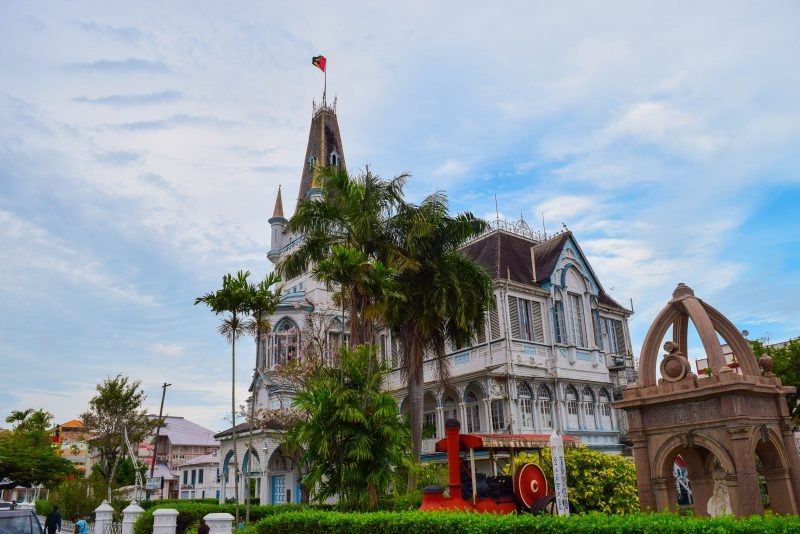 City Hall, Georgetown Guyana - Global Storybook