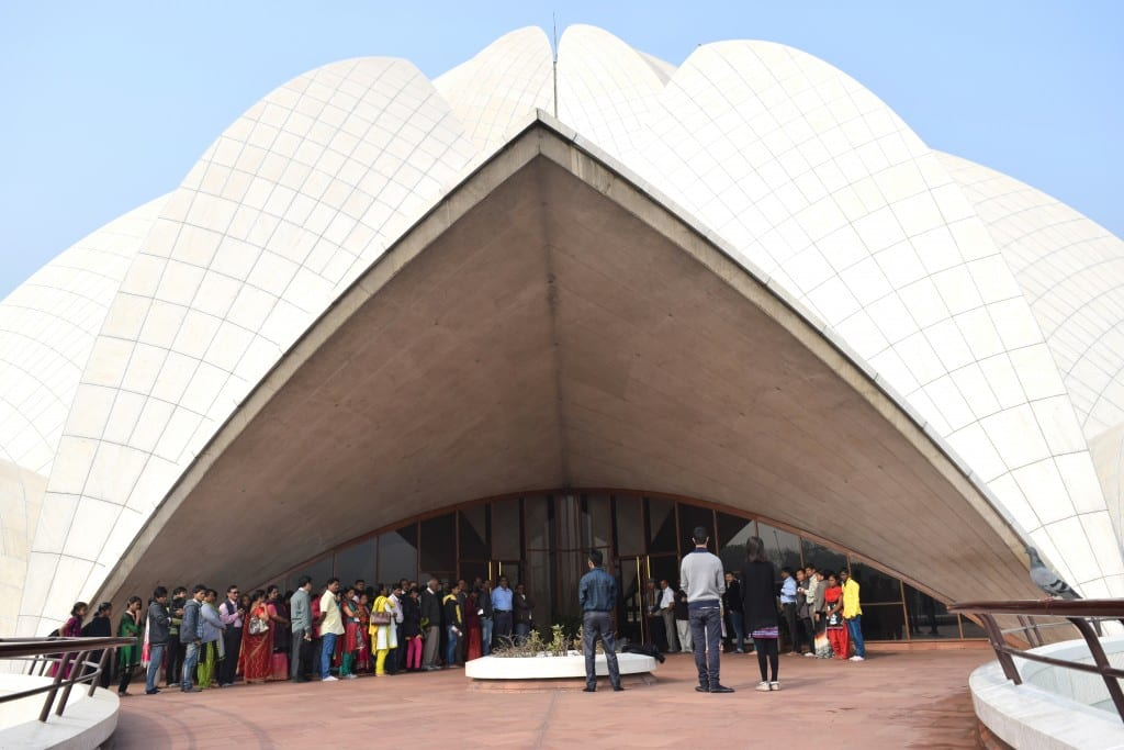 Lotus Temple (Bahai Temple), Delhi, India - Global Storybook